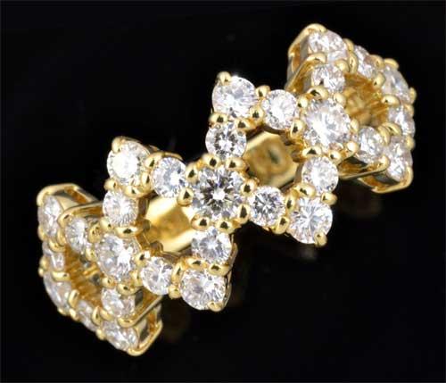 K18 ダイヤモンド 1.63ct 18金 リング《送料無料!》