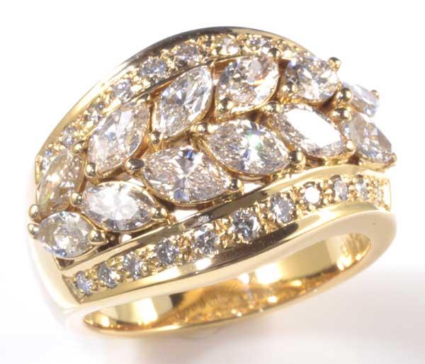 K18 ダイヤモンド 2.01ct 18金 リング《送料無料!》
