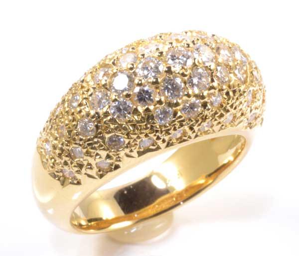 K18 ダイヤモンド 1.53ct 18金 リング《送料無料!》