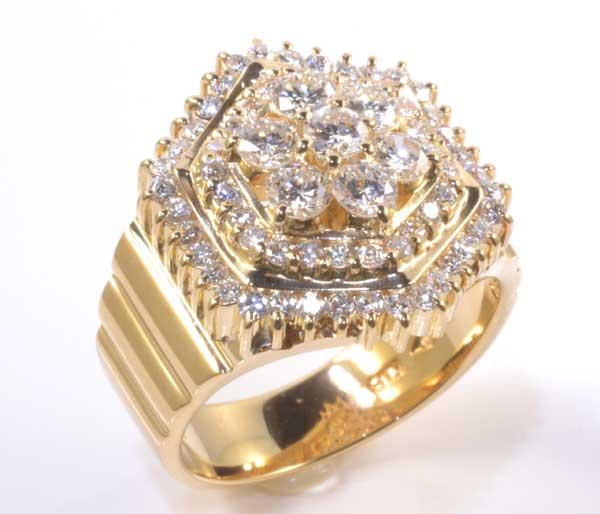 K18 ダイヤモンド 1.30ct 18金 リング《送料無料!》