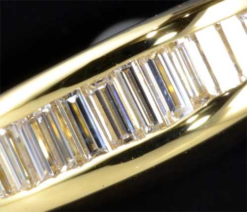 K18 ダイヤモンド 0 67ct一文字 18金 リング 送料無料IYW9E2DH