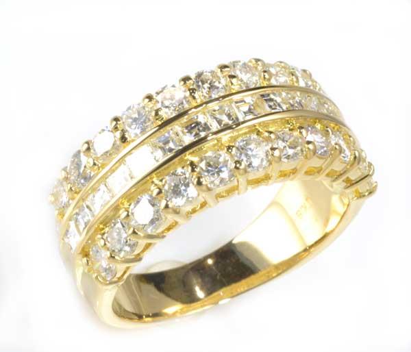 K18 ダイヤモンド 2.24ct 18金 リング《送料無料!》