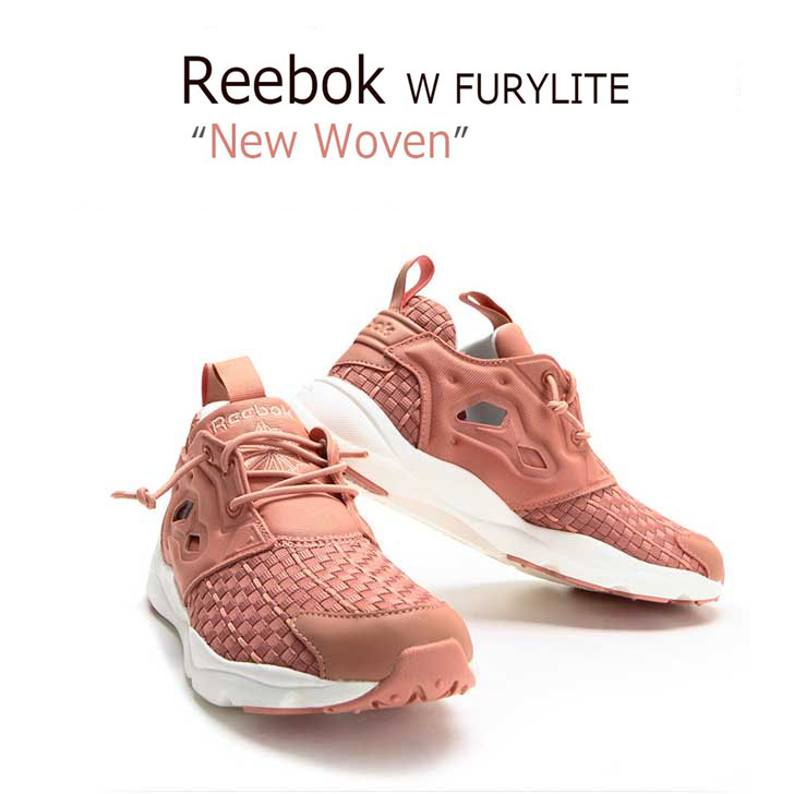 【送料無料】Reebok Fury Lite W FURYLITE NEW WOVEN CLAY/STONE/CHALK 【リーボック】【フューリーライト】【V68870】