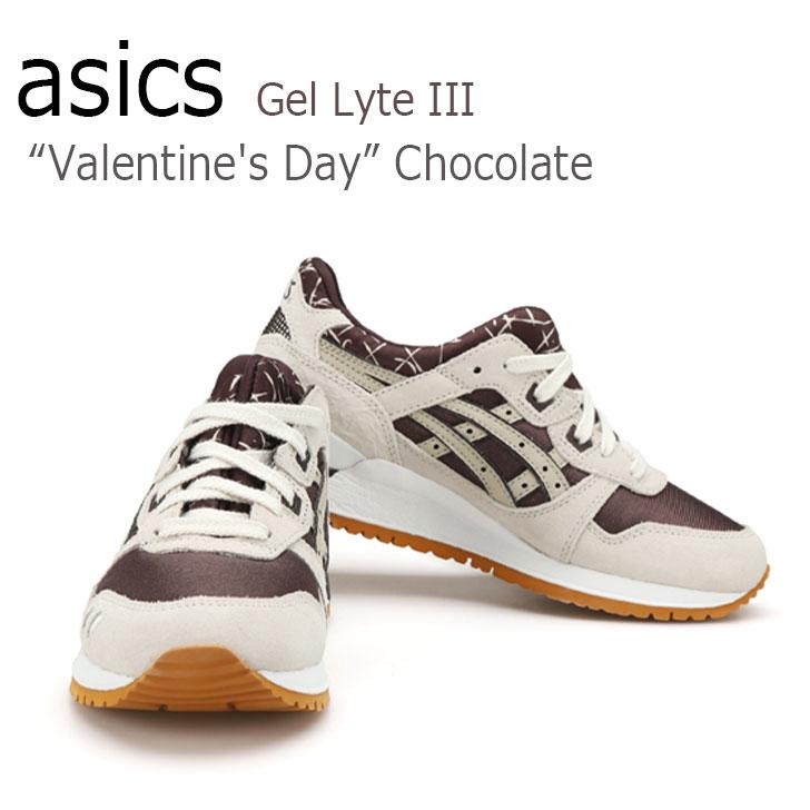 "asics Gel Lyte III ""Valentine's Day"" Chocolate/ BEIGE/BLACK【アシックス】【H573N-6205】 シューズ"