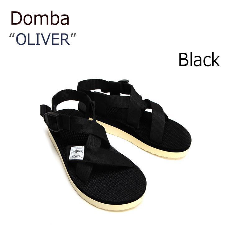 ドンバ サンダル DOMBA メンズ レディース SANDAL OLIVER BLACK ブラック F-7011 シューズ