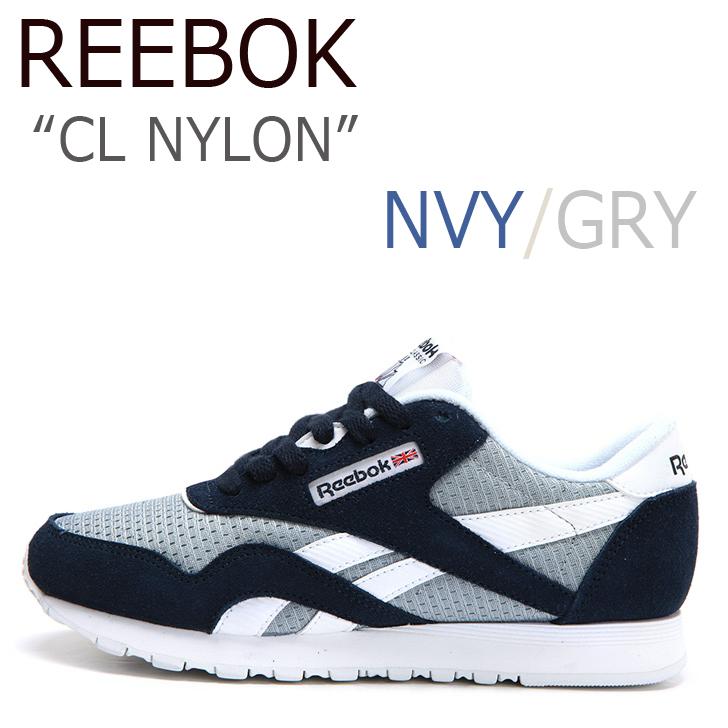 Reebok CL NYLON / ネイビー【リーボック】【日本未発売】【V67356】 シューズ