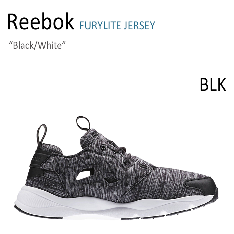 Reebok/FURYLITE JERSEY/Black/White【リーボック】【フューリーライト】【AR3040】 シューズ