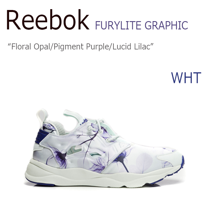 Reebok FURYLITE GRAPHIC Floral Opal/Pigment Purple/Lucid Lilac 【リーボック】【フューリーライト】【AQ9835】 シューズ