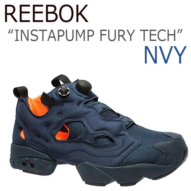 Reebok INSTAPUMP FURY TECH ポンプフューリー / ネイビー【リーボック】【ポンプフューリー】【V63499】 シューズ