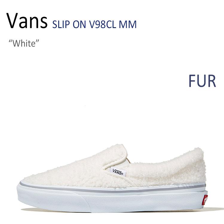 Vans SLIP ON V98CL MM/White【バンズ】【スリップオン】 シューズ