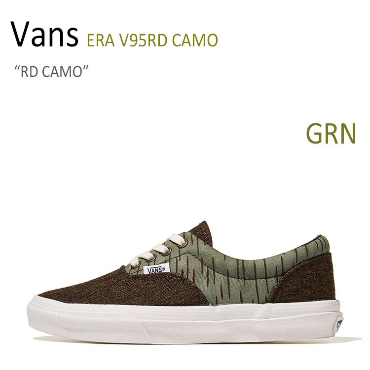 Vans ERA V95RD CAMO/RD CAMO【バンズ】【エラ】 シューズ