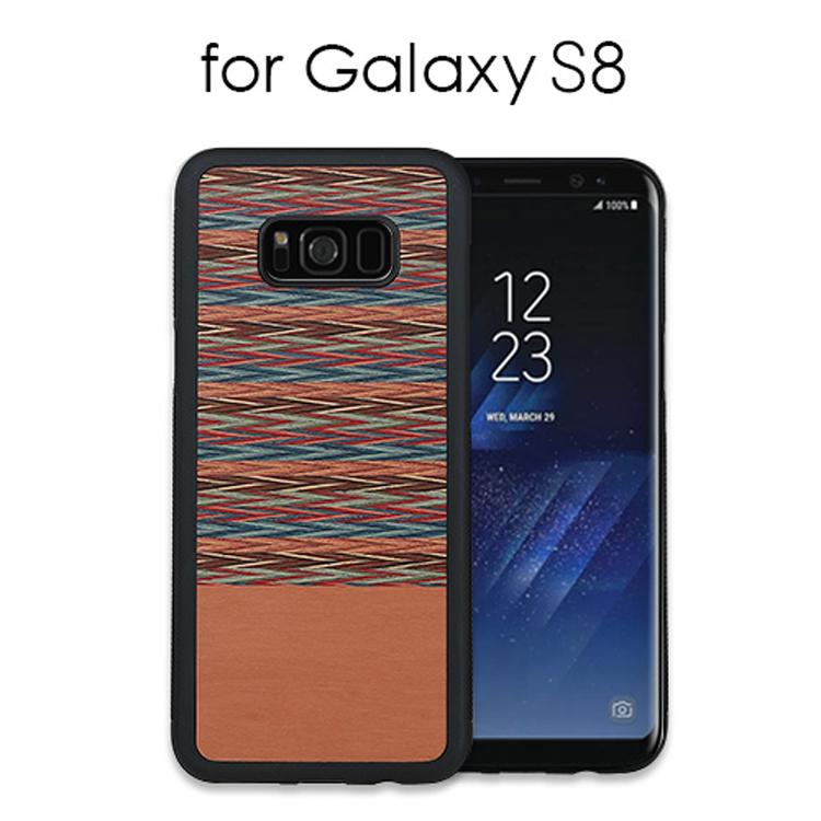 GalaxyS8 ギャラクシーS8 ナチュラルなウッド スマホケース Galaxy S8 ケース 5☆好評 天然木 ManWood Browny Check SC-02J モデル着用&注目アイテム ギャラクシー お取り寄せ カバー SCV36 ブラウニーチェック エイト 木製 エス マンアンドウッド