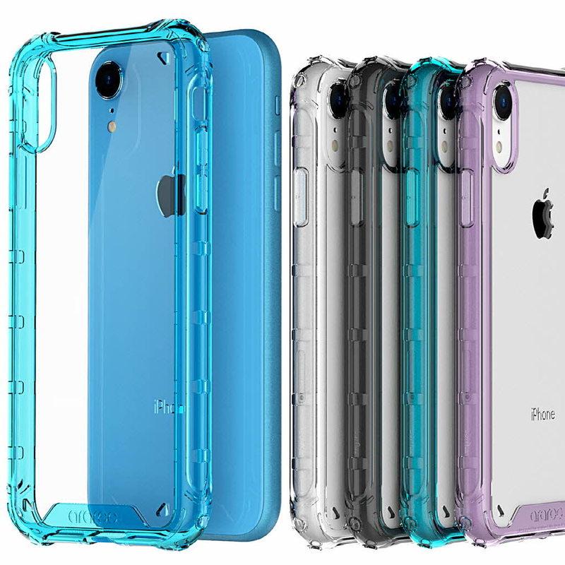 iPhoneXR ケース アイフォンXR Qi 対応 ワイヤレス充電 iPhone XR 2020新作 ケースararee デュープル 完全送料無料 バンパー風 カバー クッションで衝撃吸収 お取り寄せ Duple 背面クリア アイフォン アラリー