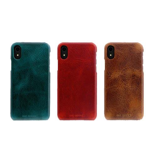 iPhone XR ケース 本革 SLG Design Badalassi Wax Bar case(エスエルジー バダラッシーワックスバーケース)アイフォン レザー カバー お取り寄せ
