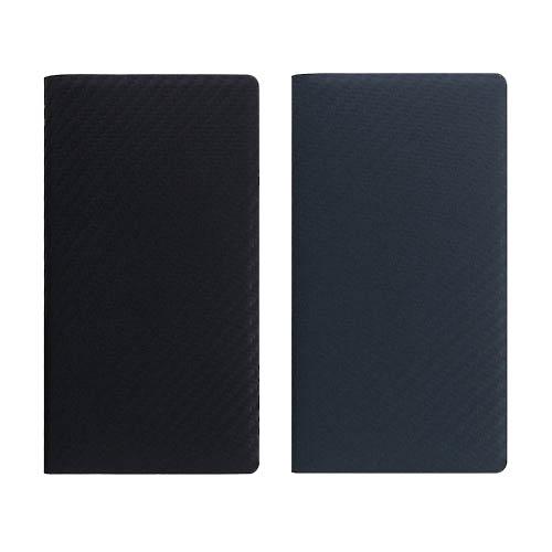 iPhone XS Max ケース 手帳型 本革 SLG Design Carbon leather case(エスエルジー カーボンレザーケース)アイフォン レザー カバー お取り寄せ