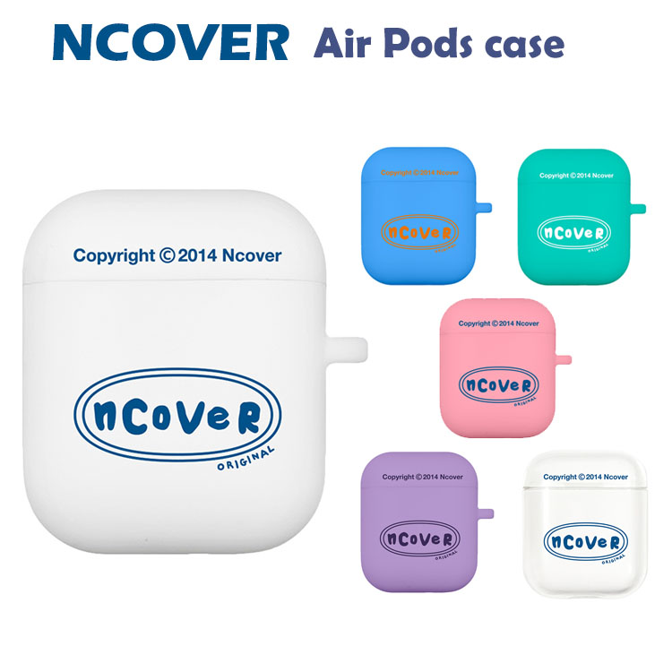 Air Pods ケース air 信用 pods カバー エアポッズ 韓国 流行 かわいい シンプル case AirPods NCOVER お取り寄せ Twentys 信頼 original 韓国ケース airpods エヌカバー airpods2