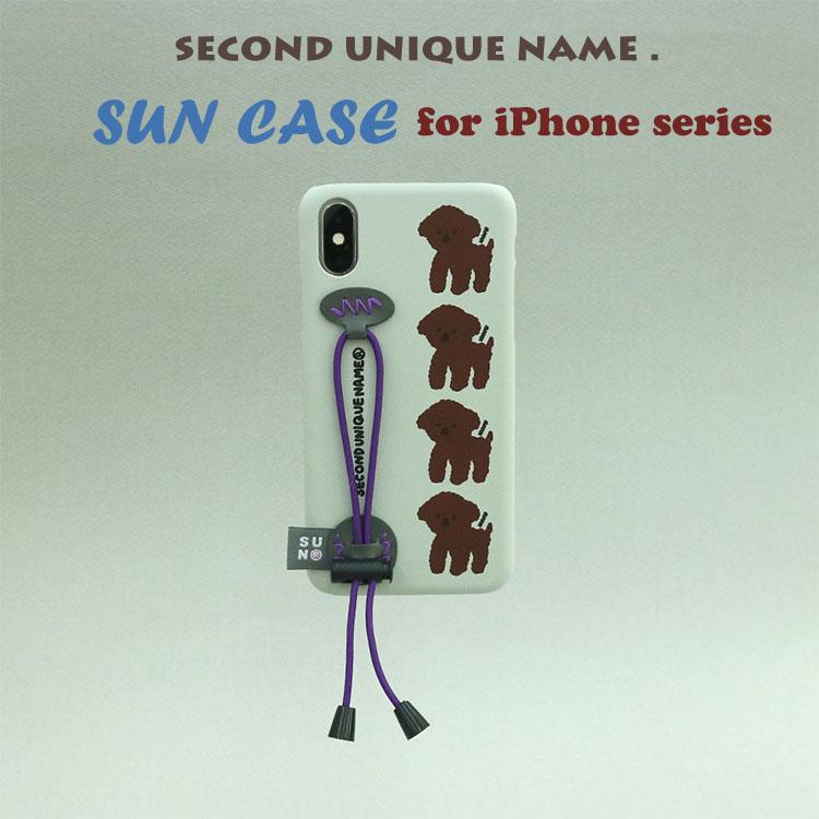 iPhone11 Pro ケース iPhone11 ケース iPhone11 Pro Max ケース iPhoneXS ケース iPhoneXR ケース iPhone8 韓国 ベルト iPhoneXS MAX iPhoneX iPhone7 iPhone8 Plus iPhone6s iPhoneSE SECOND UNIQUE NAME STRING LIGHT GREY カバー 正規品 お取り寄せ