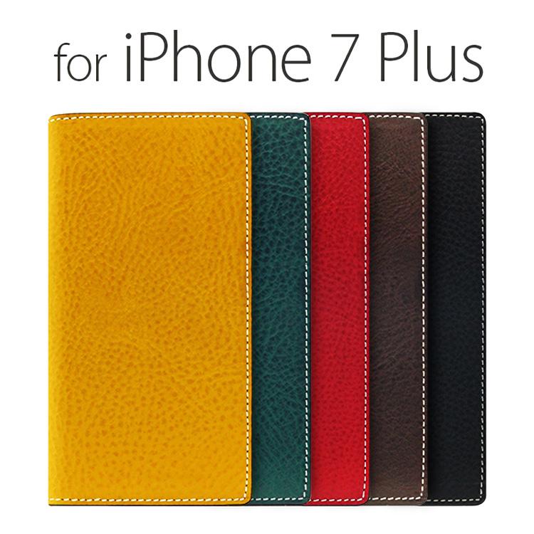 お取り寄せ iPhone8 Plus iPhone7 Plus ケース 手帳型 SLG Design Minerva Box Leather Case エスエルジーデザイン ミネルバボックスレザーケース アイフォン 本革 カバー