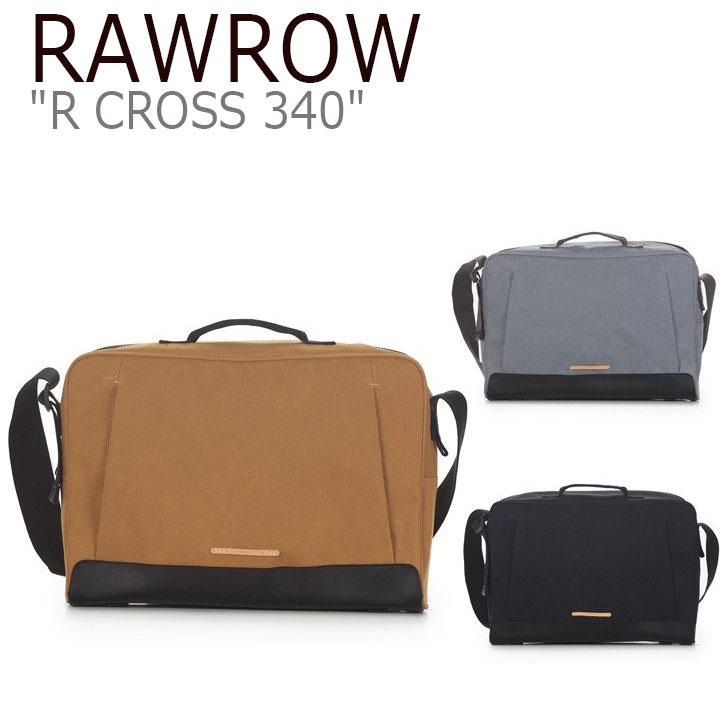 ロウロウ クロスバッグ RAWROW メンズ レディース R CROSS 340 WAX COTNA 15 アール クロス 340 ワックス コトナ キャメル グレー ブラック バッグ