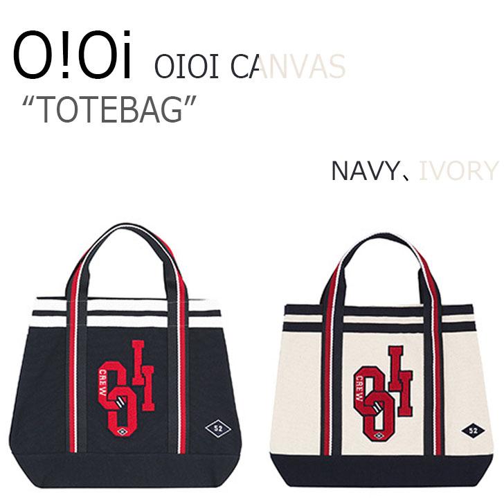オアイオアイ BAG O!OI メンズ レディース OIOI CANVAS TOTE BAG キャンバス トートバッグ 2色 バッグ