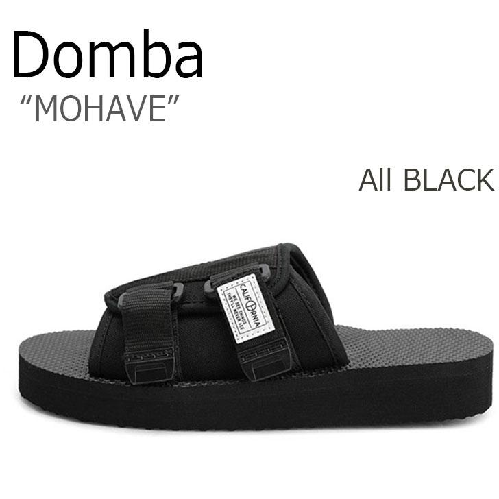 ドンバ サンダル DOMBA メンズ レディース MOHAVE モハーヴェ All BLACK オールブラック F-7225 シューズ