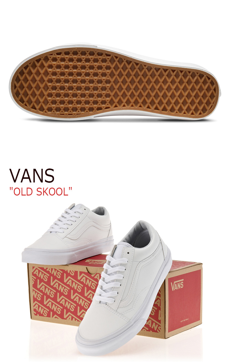 Vans old school VANS men gap Dis OLD SKOOL (CLASSIC TUMBLE) TRUE WHITE classical music tongue bulldog toe roux white VN0A38G1ODJ shoes