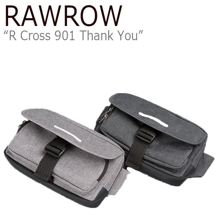 ロウロウ クロスバッグ RAWROW メンズ レディース R HIPSACK 300 WAX HAZE ヒップサック 300 ワックス GRAY BLACK グレー ブラック バッグ