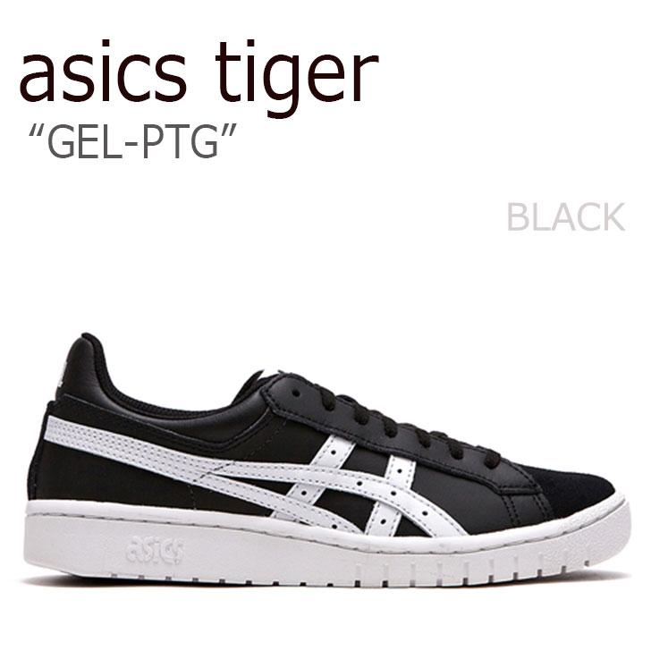 アシックスタイガー スニーカー asics tiger メンズ レディース GEL-PTG ゲルポイントゲッター BLACK ブラック FLAC8F3U10 シューズ