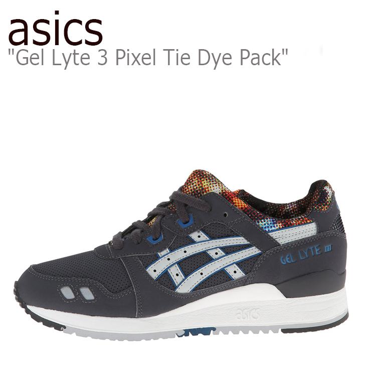 asics Gel Lyte 3 Pixel Tie Dye Pack / Nvy【アシックスタイガー】【タイダイ】【H499Y-1610】 シューズ