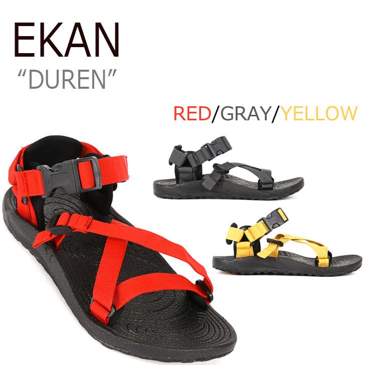 ekan エカンサンダル ストラップサンダル スポサン スポーツサンダル エカン サンダル EKAN 初回限定 EKAN-1501 シューズ 3色 メンズ デュレン レディース 売れ筋ランキング DUREN