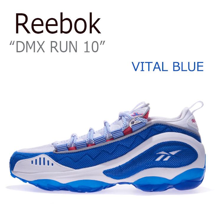 リーボック スニーカー REEBOK メンズ レディース DMX RUN 10 ディーエムエックスラン 10 VITAL BLUE バイタルブルー CN0984 シューズ