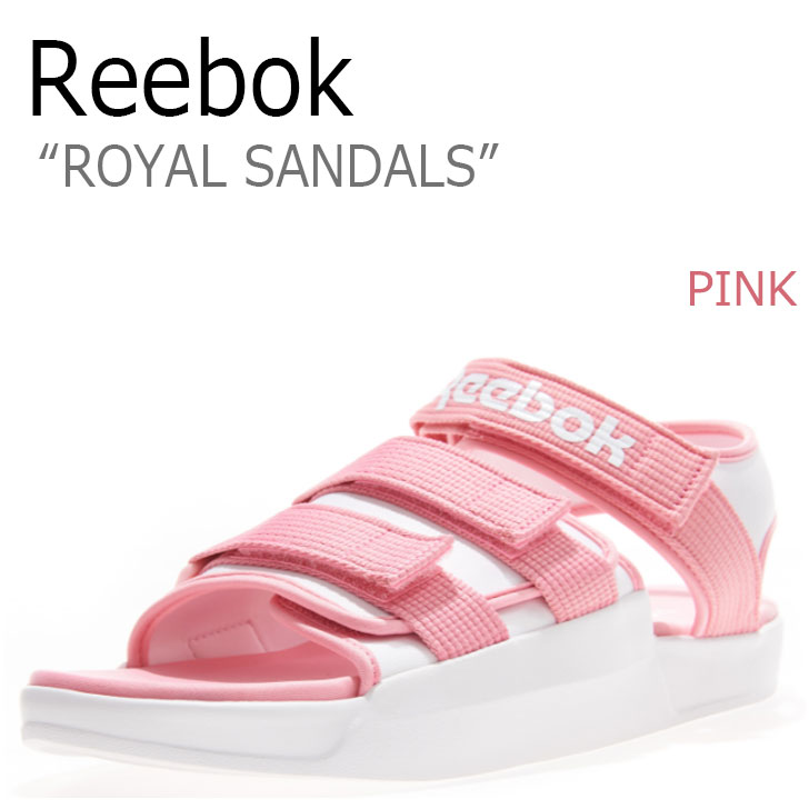 リーボック サンダル REEBOK メンズ レディース ロイヤルサンダル ROYAL SANDAL PINK ピンク CN5497 シューズ