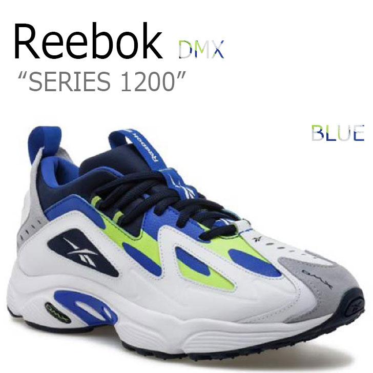 リーボック スニーカー REEBOK メンズ レディース DMX SERIES 1200 DMXシリーズ1200 BLUE ブルー RBKCN7119 CN7119 シューズ