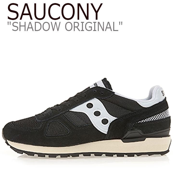 サッカニー シャドウオリジナル スニーカー SAUCONY メンズ SHADOW ORIGINAL VINTAGE シャドウ オリジナル ヴィンテージ BLACK ブラック S70424-2 シューズ