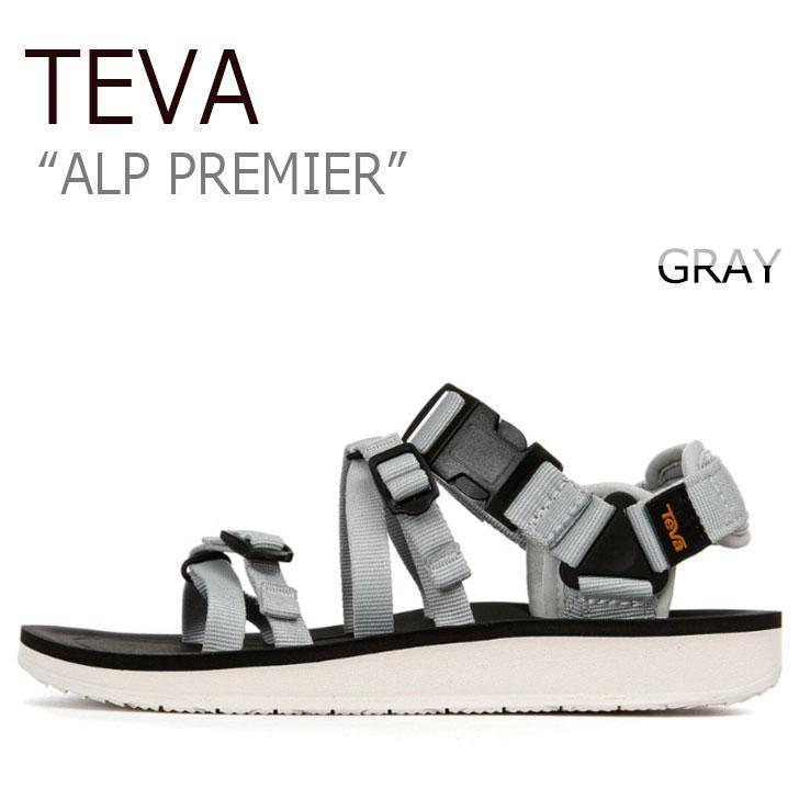 テバ サンダル TEVA レディース ALP PREMIER アルプ プレミア GRAY グレー 1015182-GCGR シューズ