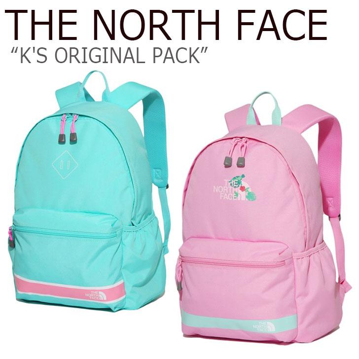 ノースフェイス バックパック THE NORTH FACE キッズ K'S ORIGINAL PACK オリジナル パック MINT LAVENDER ミント ラベンダー NM2DK08T/U バッグ 【中古】未使用品