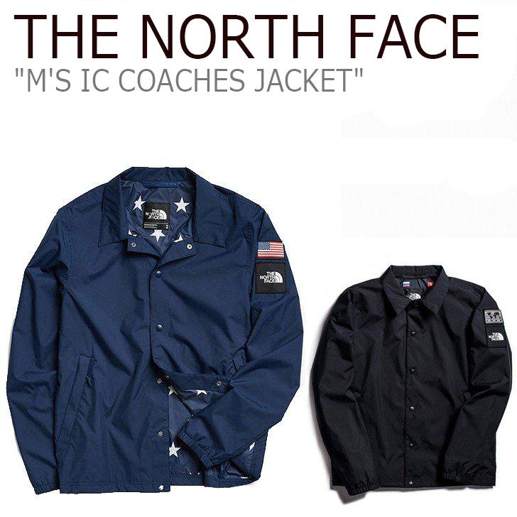 ノースフェイス コーチジャケット THE NORTH FACE メンズ M'S IC COACHES JACKET コーチ ジャケット Navy Black ネイビー ブラック NJ3BJ07A NJ3BJ07B ウェア 【中古】未使用品