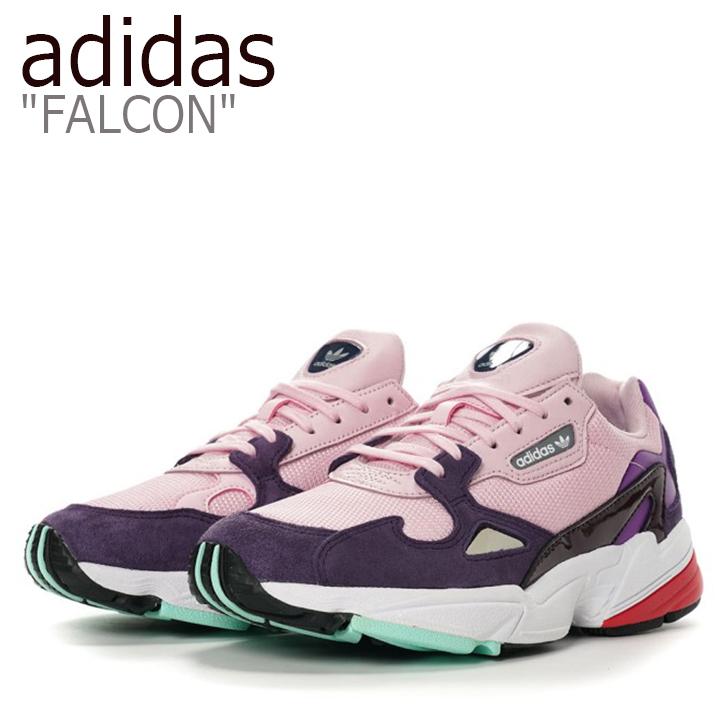 アディダス ファルコン スニーカー adidas メンズ レディース FALCON ダッドシューズ PINK ピンク BD7825 シューズ 【中古】未使用品