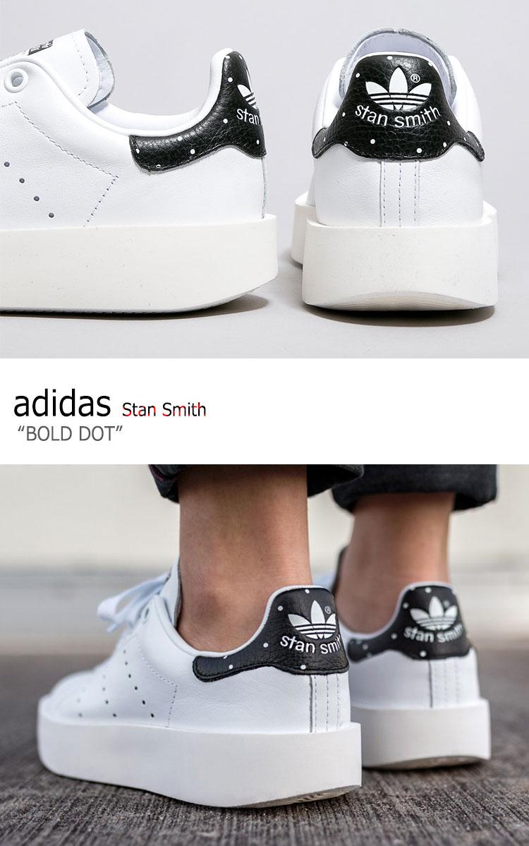 adidas stan smith bold white black
