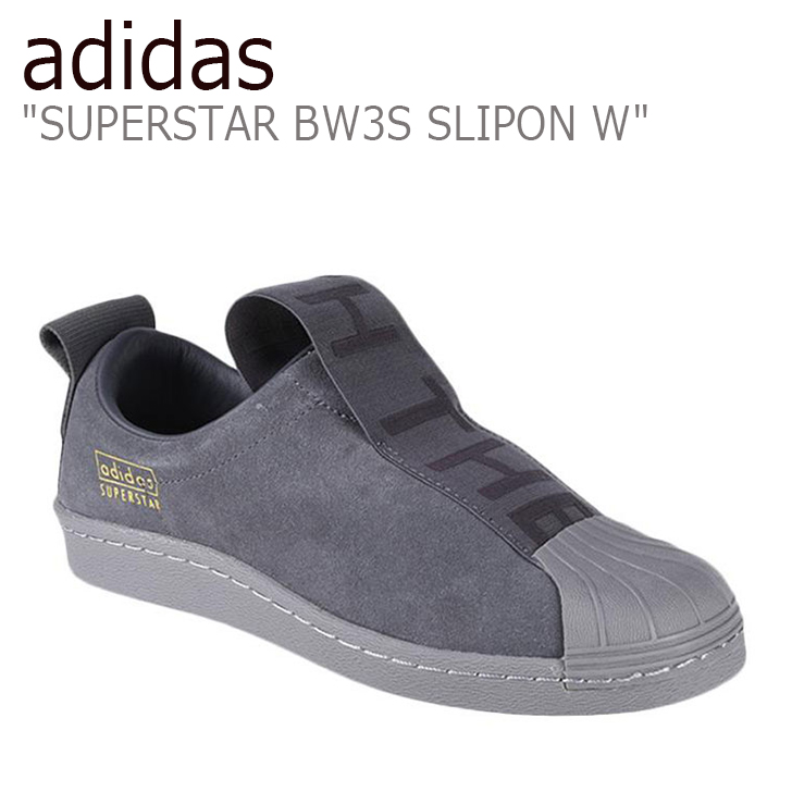 purchase cheap 65ded af471 Adidas superstar sneakers adidas men gap Dis slip-ons women SUPERSTAR BW3S  SLIPON W BLACK black CG3695 shoes-free article
