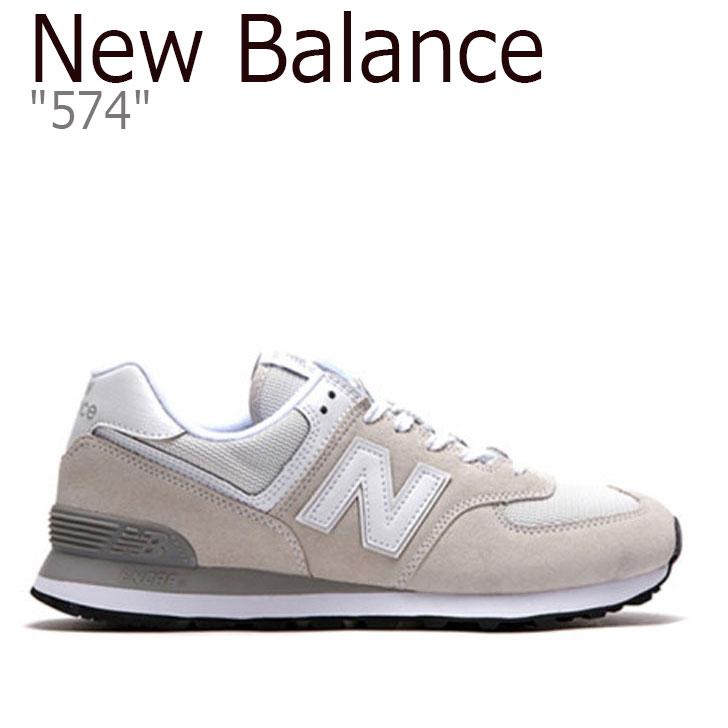 ニューバランス スニーカー NEW BALANCE 574 ニューバランス574 メンズ BEIGE ベージュ ML574EGW シューズ 【中古】未使用品