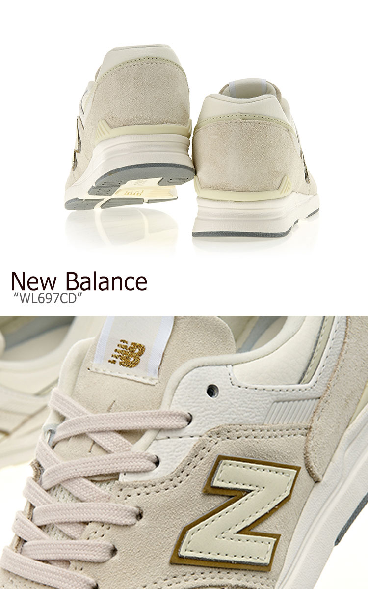 New Balance 697 sneakers New Balance Lady's WL 697 CD New Balance697 BEIGE beige WL697CD shoes free article