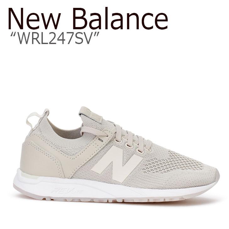 ニューバランス 247 スニーカー New Balance メンズ レディース MRL 247 DX New Balance247 BEIGE ベージュ MRL247DX シューズ 【中古】未使用品