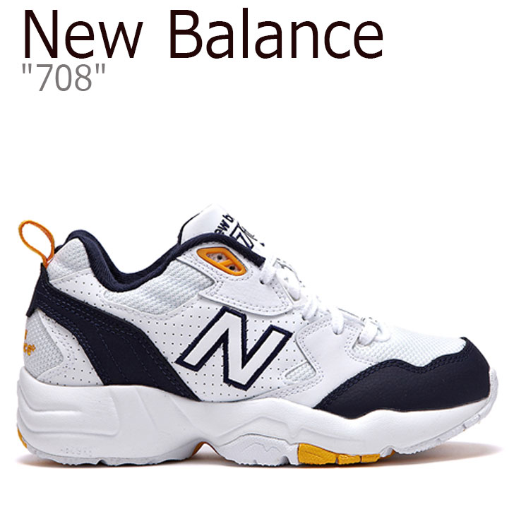 ニューバランス スニーカー NEW BALANCE メンズ レディース New Balance708 ニューバランス708 YELLOW イエロー WX708WP FLNB9S1U35 シューズ 【中古】未使用品