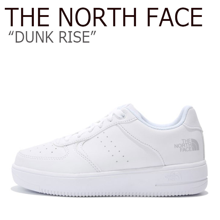 ノースフェイス スニーカー THE NORTH FACE メンズ レディース DUNK RISE ダンク ライズ WHITE ホワイト NS93K37J シューズ 【中古】未使用品