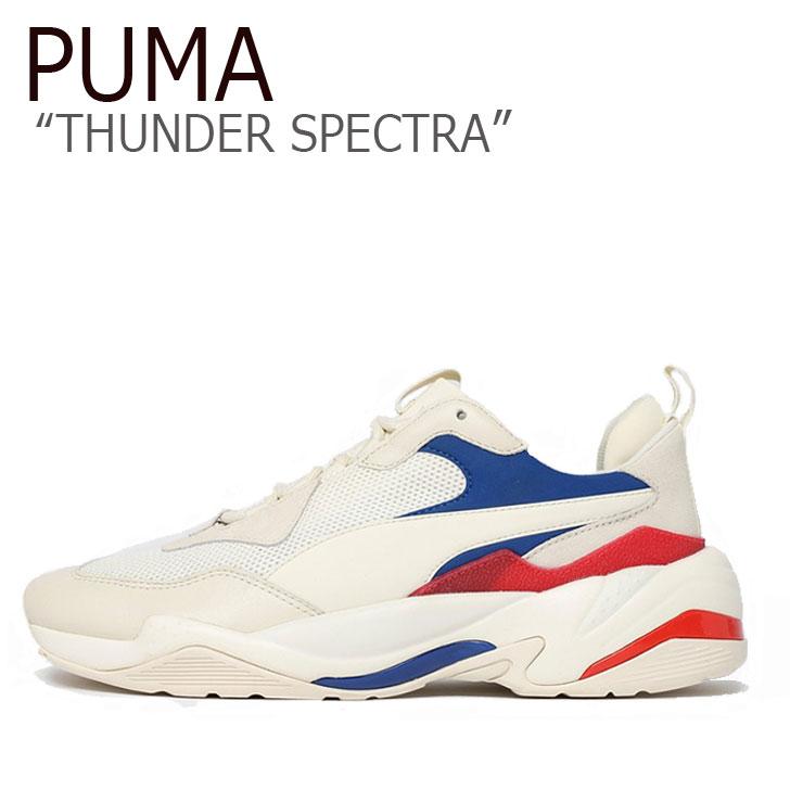 プーマ スニーカー PUMA メンズ レディース THUNDER SPECTRA サンダー スぺクトラ WHITE ホワイト 36751624 シューズ 【中古】未使用品
