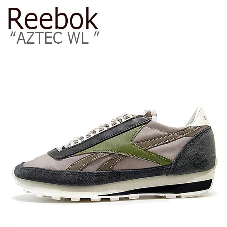 Reebok AZTEC WL GRAY/KHAKI【リーボック】【アズテック】【AR0621】 シューズ