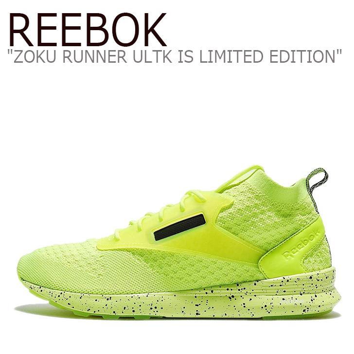 リーボック スニーカー Reebok メンズ レディース ZOKU RUNNER ULTK IS LIMITED EDITION ゾク ランナー ウルトラニット リミテッド エディション Solar Yellow Black White イエロー BS6313 シューズ