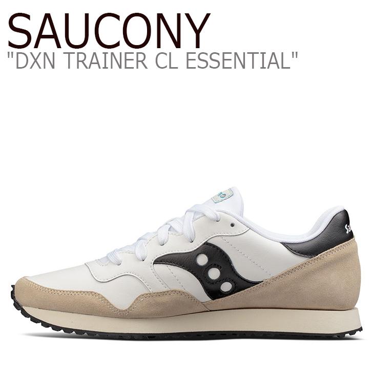 サッカニー スニーカー Saucony メンズ DXN TRAINER CL ESSENTIAL ディクソントレーナー WHITE ホワイト S70358-4 シューズ