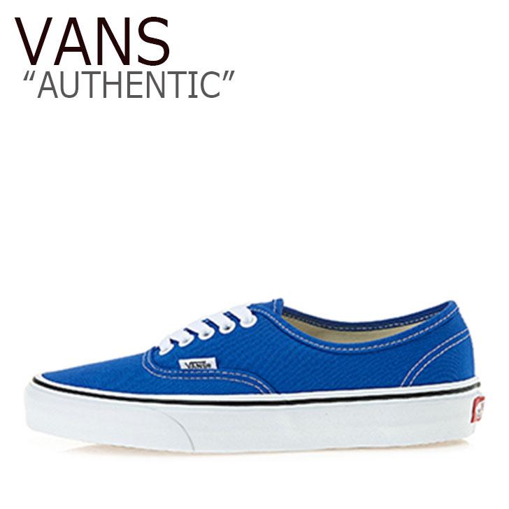 バンズ オーセンティック スニーカー VANS メンズ レディース AUTHENTIC LAPIS BLUE TRUE WHITE ラピスブルー トゥルーホワイト VN0A38EMVJI シューズ